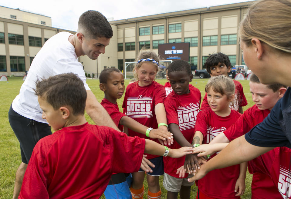 Christian Pulisic is just 19, but already he's the face of U.S. soccer. (AP)