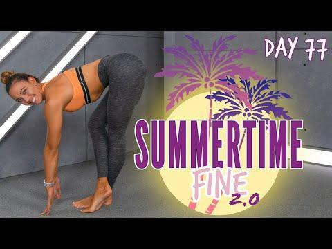 """<p>Another winner from Cummings, this lower back and glutes-focused stretch will release all those aching muscles south of your waist. You won't need any equipment for this workout, just an exercise mat and twenty mins to spare.</p><p><a href=""""https://www.youtube.com/watch?v=HJWdp9yMLOI&ab_channel=SydneyCummings"""" rel=""""nofollow noopener"""" target=""""_blank"""" data-ylk=""""slk:See the original post on Youtube"""" class=""""link rapid-noclick-resp"""">See the original post on Youtube</a></p>"""
