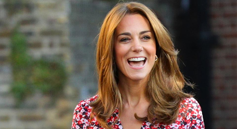 Kate Middleton wore a new L.K. Bennett dress earlier this month. [Photo: PA]