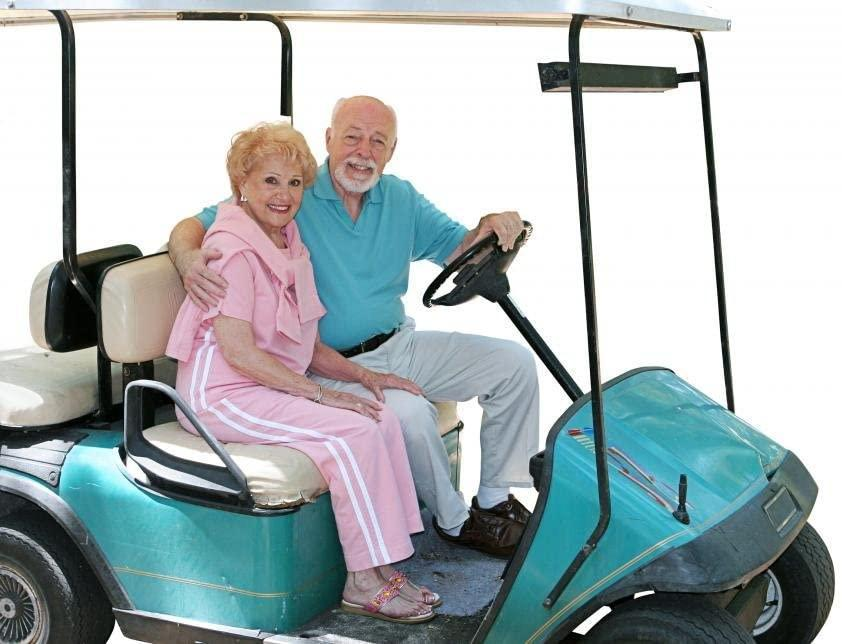 """<h2>Wallmonkeys """"Golf Cart Seniors"""" Wall Decal</h2><br><strong>What is it? </strong>A one-foot vinyl sticker depicting two old folks in a golf cart<br><br><strong>What's the hottest take? </strong>""""I love them,"""" wrote reviewer William Hinrichsen. """"I've always wanted to have a threesome. Due to my tragic appearance and odorous scent, I have not had many opportunities to chase this dream. That all changed when I met Mortimer and Blanche, and now every night is kaleidescope of passion.""""<br><br><strong>Wallmonkeys</strong> """"Golf Cart Seniors"""" Wall Decal, $, available at <a href=""""https://amzn.to/3s1jBSG"""" rel=""""nofollow noopener"""" target=""""_blank"""" data-ylk=""""slk:Amazon"""" class=""""link rapid-noclick-resp"""">Amazon</a>"""