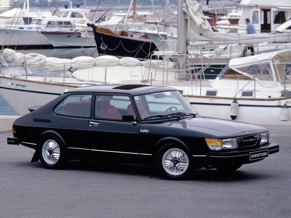 <p>The first turbocharged Saab 900 appeared in 1978, but it took until 1982 for its engine to receive electronic boost control and 1985 for an intercooler and eight valves instead of four to realize its full potential. The '85 900 Turbo's sweet body kit didn't hurt, either. Thanks to the intercooler, new head, and other tweaks, the Turbo's 2.0-liter four-cylinder produced a healthy 160 horsepower and 188 lb-ft of torque, enough to yank the front-wheel-drive 900 to 60 mph in 8.5 seconds in our testing. <em>—Alexander Stoklosa</em></p>