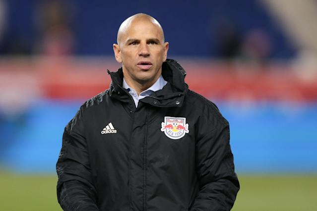 Chris Armas led the New York Red Bulls to the Supporters' Shield a year ago. (Vincent Carchietta/USA Today)