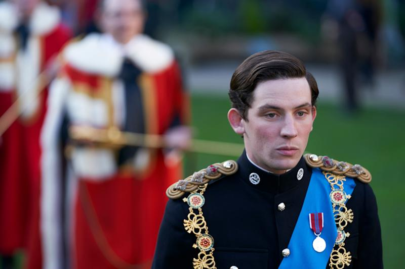 Josh in character as Prince Charles (Photo: Courtesy of Des Willie / Netflix)
