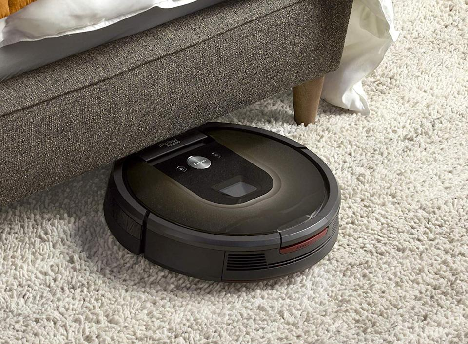 If you've always wanted a robot vacuum, now's the time to score one at a deeply discounted price. (Photo: Amazon)