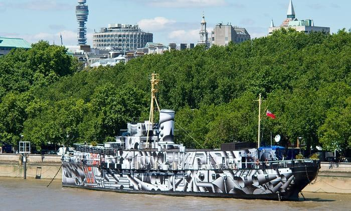 HMS President is the UK's only surviving Q-ship