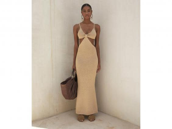 This cut-out dress is perfect for summer