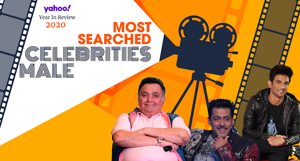 Year In Review: Most Searched Male Celebrities of 2020
