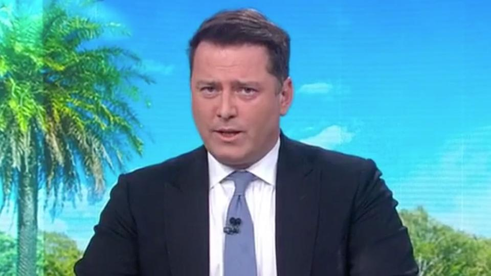 Karl Stefanovic on Today show