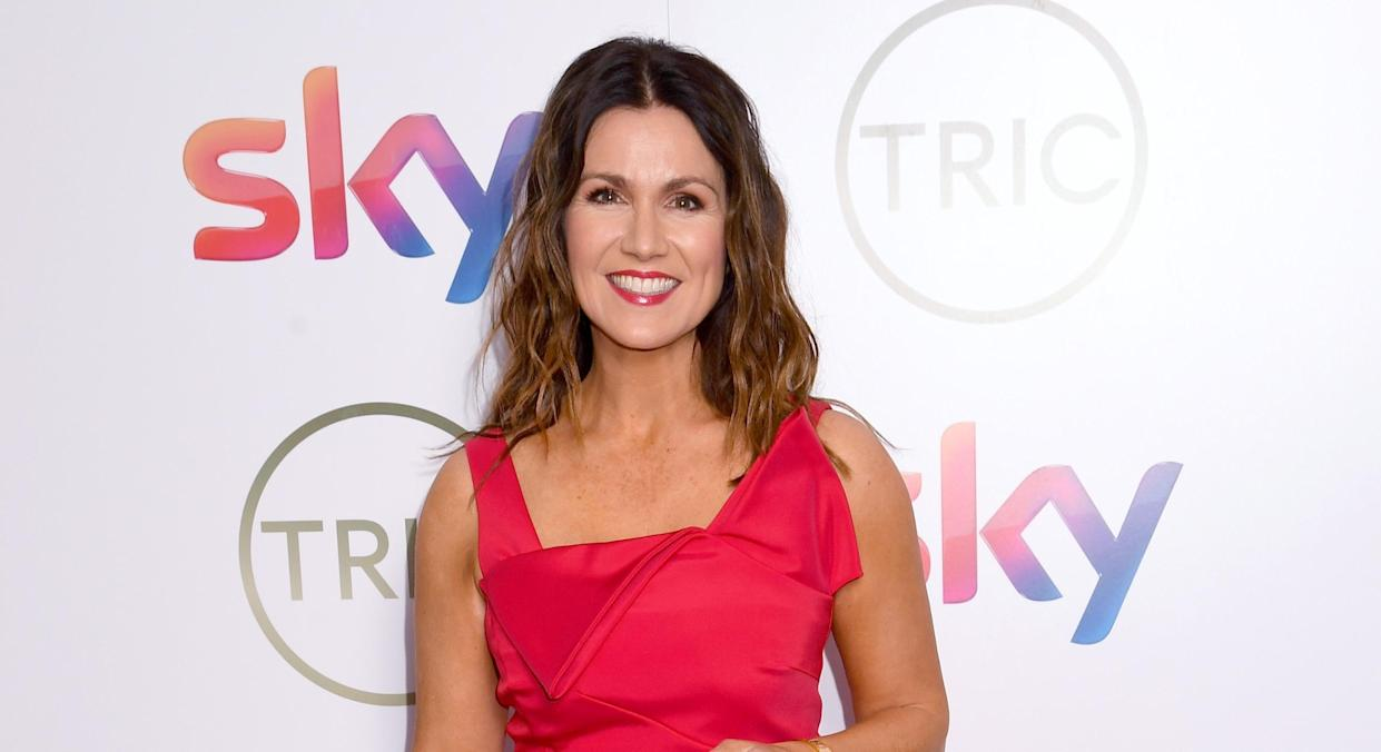 Susanna Reid has defended the outfits she wears on Good Morning Britain against claims they are too revealing. (Getty Images)