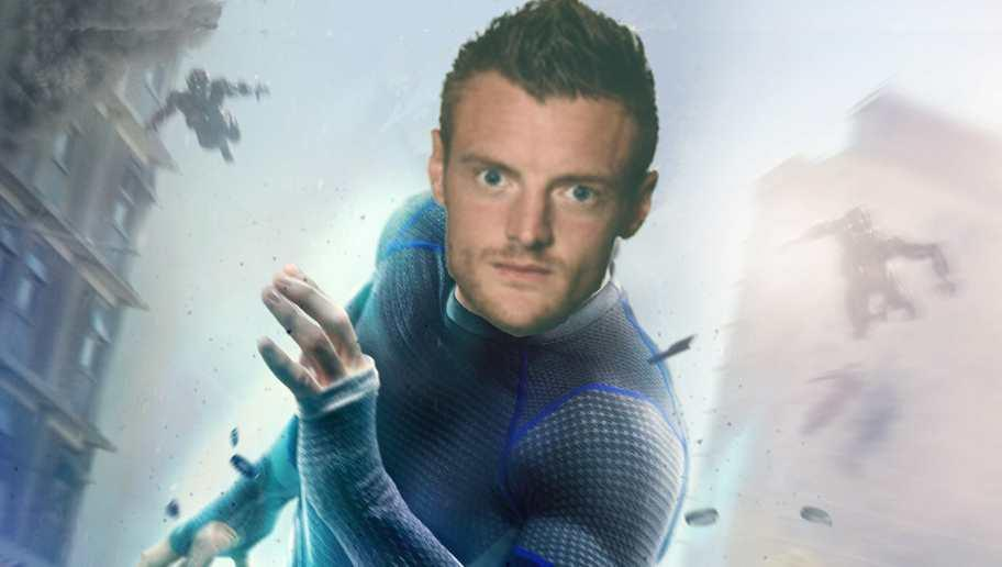 <p>Jamie Vardy's having a party. Well he was, and then he wasn't, but now he kind of is again. </p> <br /><p>Last season he ravaged the Premier League with his ridiculous speed and clinical finishing, scoring 24 goals and winning silverware for Leicester. He's QUICK... he won SILVERware... ergh, let's just move on. </p>