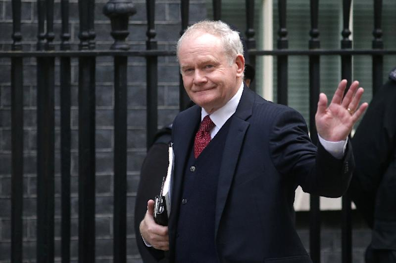 Mcguinness Ex Paramilitary Who Helped Bring Peace