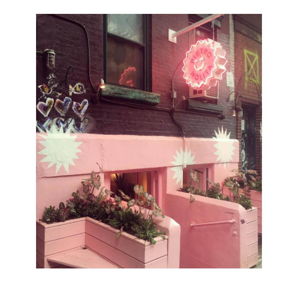"""<p>The Restaurant: Pietro Nolita</p><p>Opening this week just in time for fashion fiends is this bubblegum fantasy in Nolita, the brainchild of Milanese restaurateur Pietro Quaglia, whose insider friends (Giovanna Battaglia has already been given a preview; her husband, Oscar Engelbert, has a drink named after him) ensure its """"It"""" status, at least this week. 174 Elizabeth St.; <a href=""""http://pietronolita.com/"""">pietronolita.com</a>.</p>"""