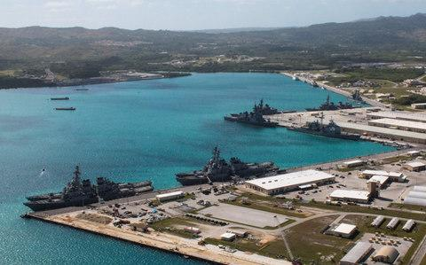 North Korea has threatened to attack the US base in Guam - Credit: Reuters