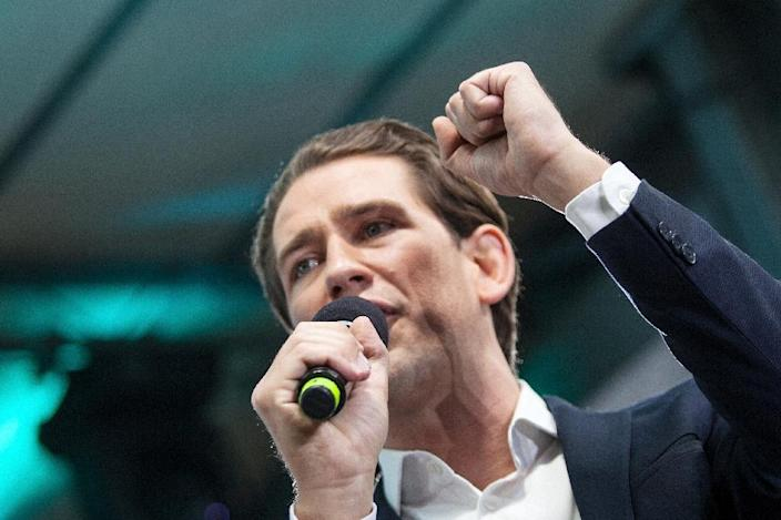 Kurz was accused by the opposition Social Democrats of a power grab (AFP Photo/Alex Halada)