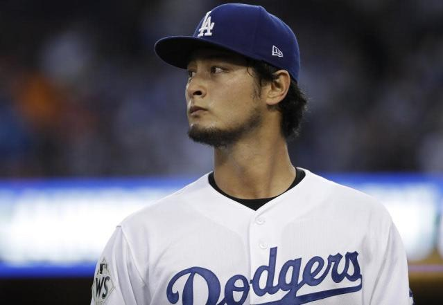 "<a class=""link rapid-noclick-resp"" href=""/mlb/players/9095/"" data-ylk=""slk:Yu Darvish"">Yu Darvish</a>'s tweet adds another layer of mystery to his free agency. (AP)"
