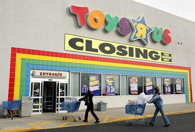 "<p>The Toys R Us bankruptcy is regarded as one of the largest bankruptcies with a reported USD$6.6 billion in assests. The company crumbled under severe debt and at one point Toys R Us ""were paying half a billion dollars a year in interest on their debt,"" explains retail expert Doug Stephens. <br>Recently, Bed Bath & Beyond announced that they will exchange Toys R Us and Babies R Us gift cards for store credit, <a href=""http://fortune.com/2018/04/04/toys-r-us-gift-card-bed-bath-and-beyond/"" rel=""nofollow noopener"" target=""_blank"" data-ylk=""slk:but that deail ends April 5"" class=""link rapid-noclick-resp"">but that deail ends April 5</a>.<br>While Toys R Us is suffering a big loss in the U.S., <a href=""http://www.toysrus.ca/shop/index.jsp?categoryId=4217985&locale=en_CA"" rel=""nofollow noopener"" target=""_blank"" data-ylk=""slk:according to the Canadian website"" class=""link rapid-noclick-resp"">according to the Canadian website</a>, 82 Toys R Us Canada stores will remain open.<br>(Via CNBC) </p>"