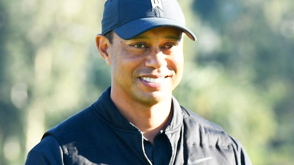 Tiger Woods, pictured here before his shocking car accident.