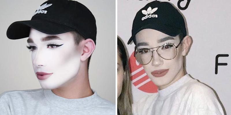 James Charles Just Trolled His Makeup Fail With The Most Hilarious