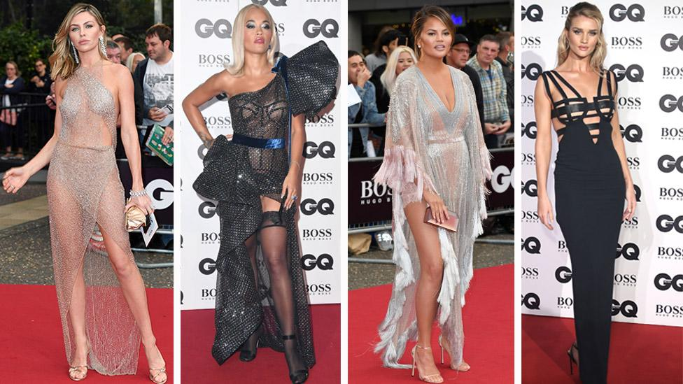<p>Scroll through for the most daring looks from the night (and some of the safer ones too!) Photo: Getty </p>