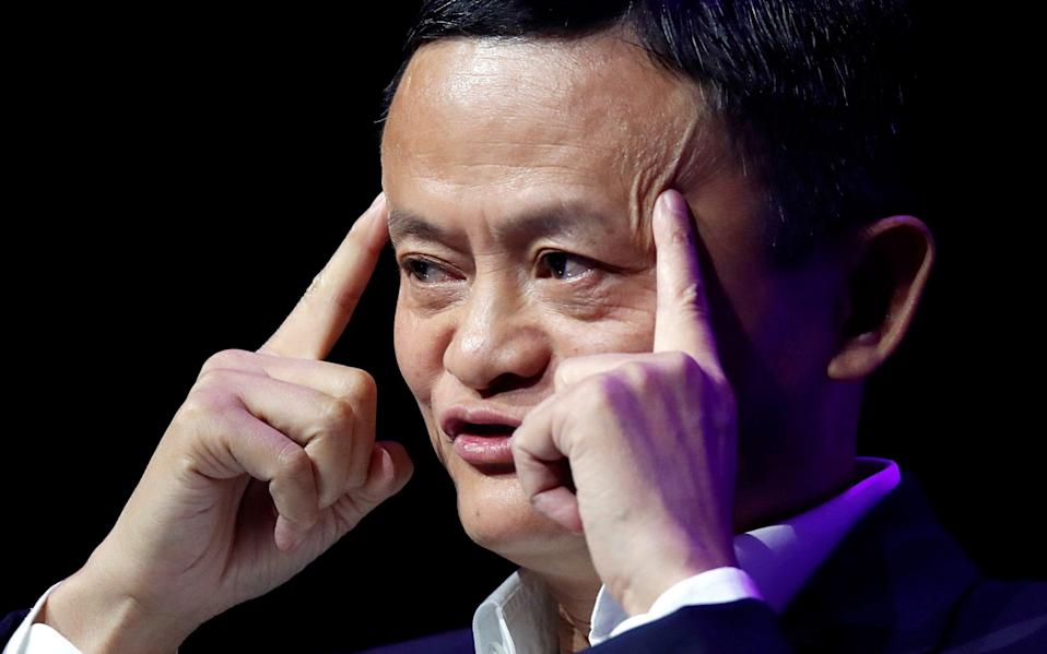 Jack Ma criticised the country's regulators and its state-owned banks in late October - Reuters