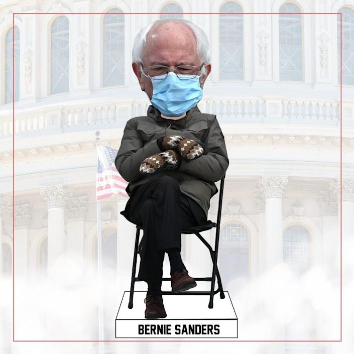 The National Bobblehead Museum and Hall of Fame is already working on a bobblehead for the memeable moment Bernie Sanders had at Joe Biden's inauguration