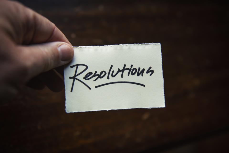 The vast majority of Brits have already given up on their New Year's resolutions. Photo: Tim Mossholder/Unsplash