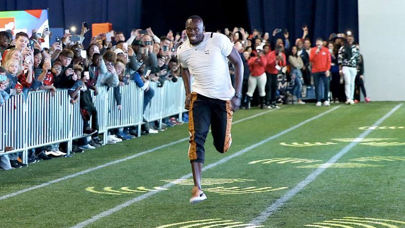 Usain Bolt matches National Football League record for fastest 40-yard dash