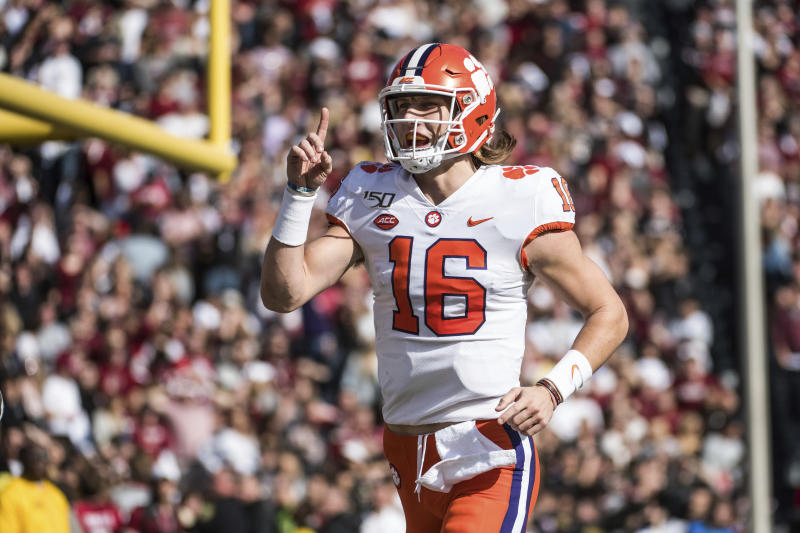 Clemson routs UVA 62-17 in the ACC championship game