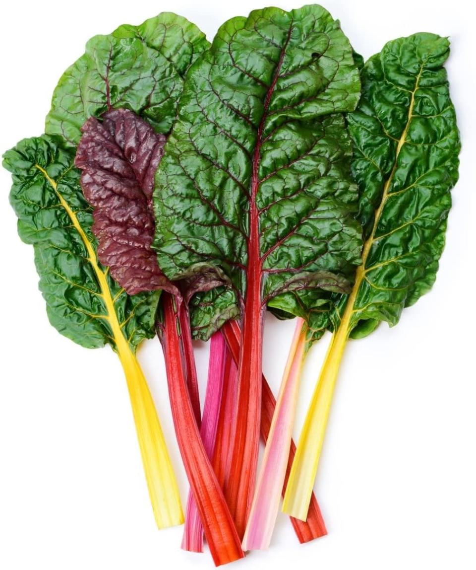 "<p>These <a href=""https://www.popsugar.com/buy/Earthcare-Swiss-Chard-Seeds-571566?p_name=Earthcare%20Swiss%20Chard%20Seeds&retailer=amazon.com&pid=571566&price=4&evar1=casa%3Aus&evar9=46114279&evar98=https%3A%2F%2Fwww.popsugar.com%2Fhome%2Fphoto-gallery%2F46114279%2Fimage%2F47449689%2FEarthcare-Swiss-Chard-Seeds&prop13=api&pdata=1"" class=""link rapid-noclick-resp"" rel=""nofollow noopener"" target=""_blank"" data-ylk=""slk:Earthcare Swiss Chard Seeds"">Earthcare Swiss Chard Seeds</a> ($4) grow into colorful leaves that taste great in soups and casseroles.</p>"