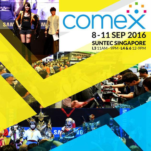"<p><a href=""http://www.comexshow.com.sg/""><b>Comex 2016</b></a></p><p>Bring your credit cards out and snap up the best deals here. Trade in old devices, shop for new gadgets, pick up new games, hard drives, camera accessories, audio headsets and all the peripherals you need at this tech show. You can also put your gaming skills to the test and compete with other players at the Gamex section, to stand a chance to win the top prizes.</p><p>When: 8-11 Sept, 11am to 9pm (level 3) and 12pm to 9pm (level 4 and 6)</p><p>Where: Suntec Singapore Convention & Exhibition Centre, 1 Raffles Boulevard, Suntec City</p><p>Prices: Free admission</p>"