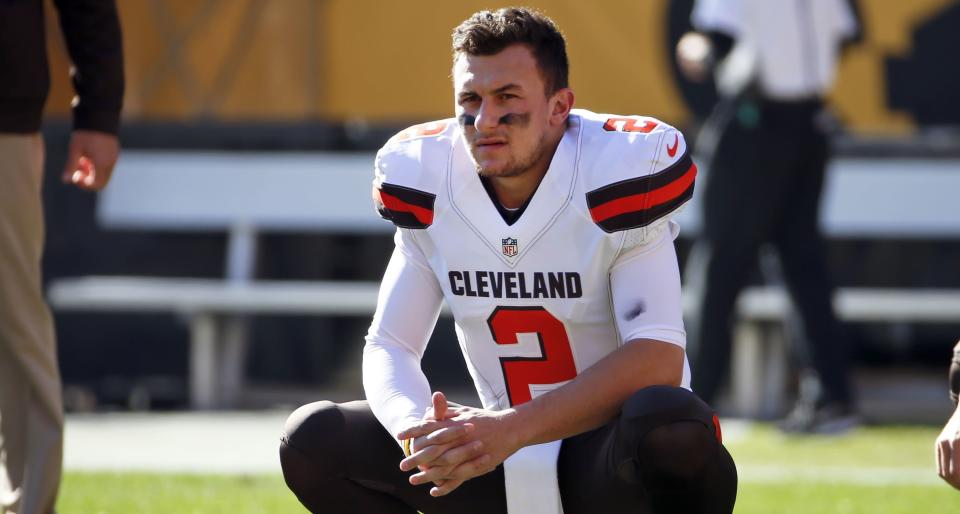 Johnny Manziel will play in The Spring League in Texas, might an NFL comeback be next? (AP)