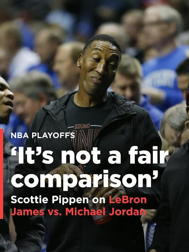 Former Chicago Bulls legend and Michael Jordan running mate Scottie Pippen spoke up recently about the debate between Jordan and LeBron James.