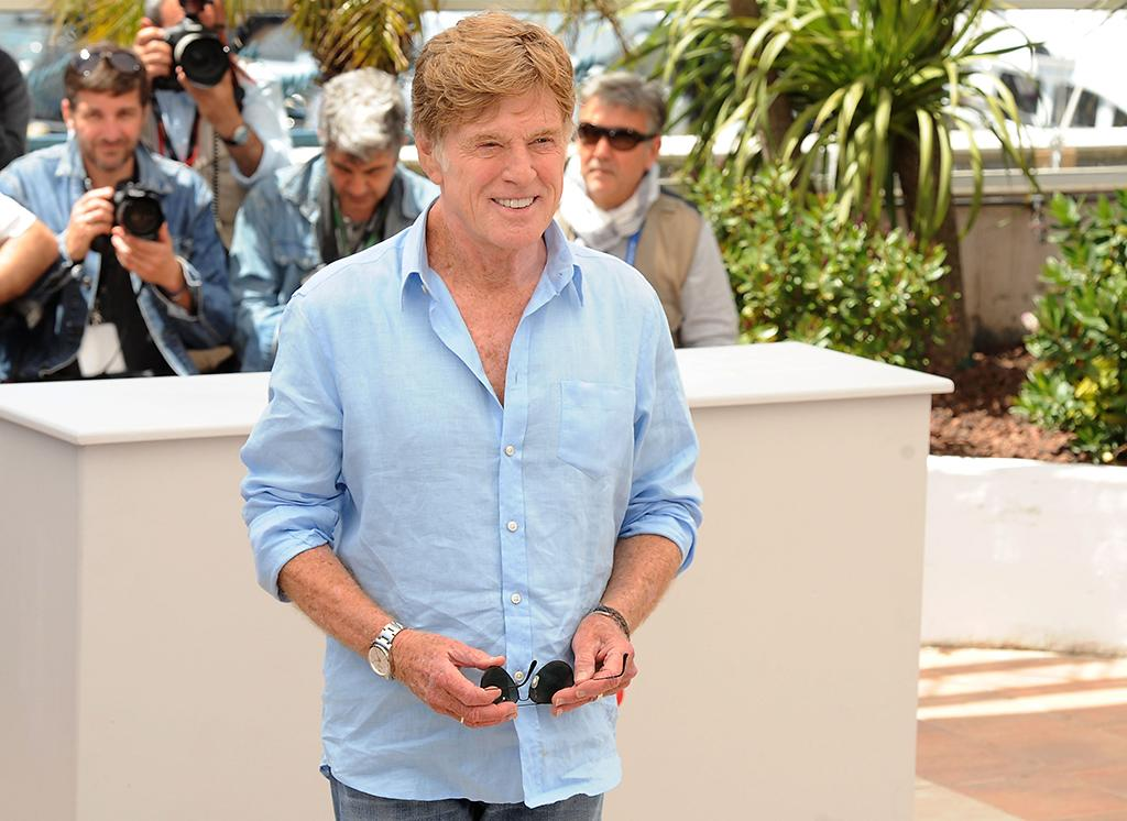 Robert Redford attends the 'All Is Lost' Photocall during the 66th Annual Cannes Film Festival at the Palais des festivals on May 22, 2013 in Cannes, France.