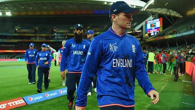 England tamely exited the 2015 ICC Cricket World Cup (Image credits: Cricket country)