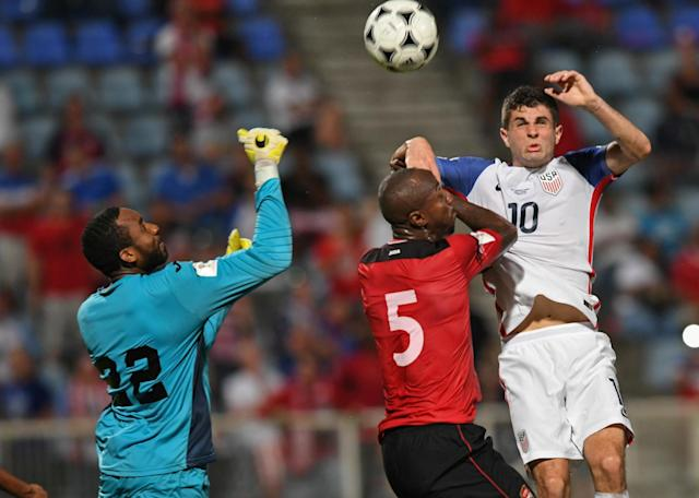 Not even Christian Pulisic was able to save the U.S. from missing out on the World Cup. (Getty)