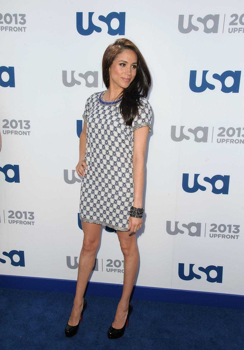 AtUSA Network's 2013 Upfront Event at Pier 36 in New York.