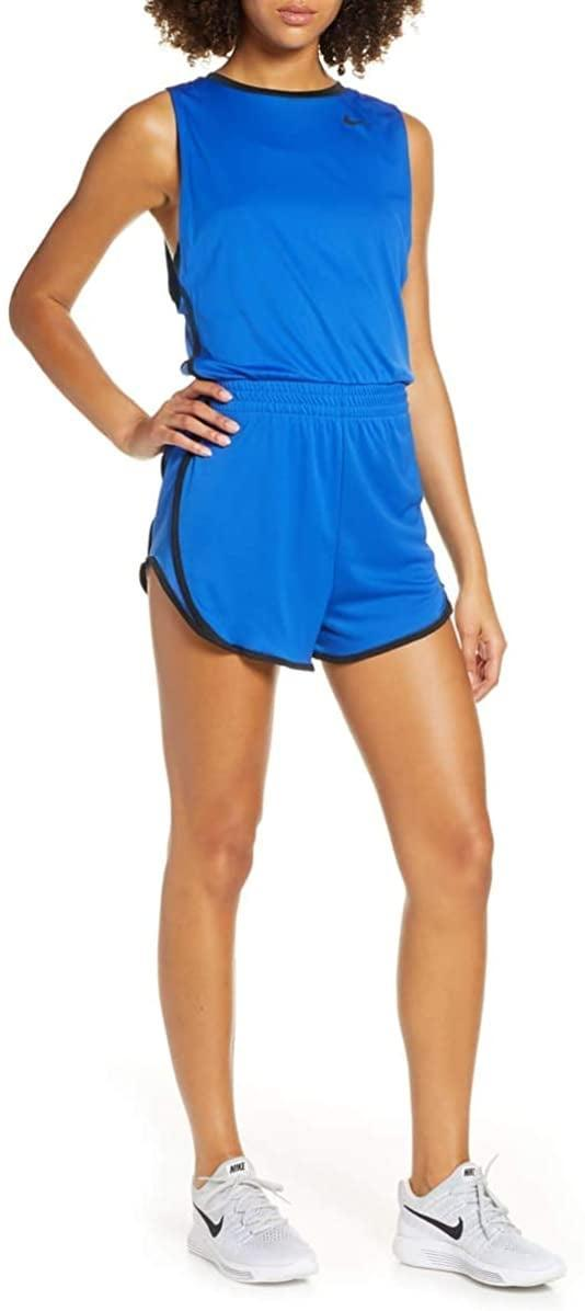 <p>This <span>Nike Fitness Workout Romper</span> ($22) is a cute and comfy choice for at-home workouts.</p>