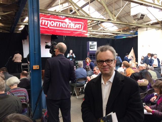 Our man at the Momentum conference in Birmingham: 'More fun and with better food than any pompous New Labour affair': Sean O'Grady