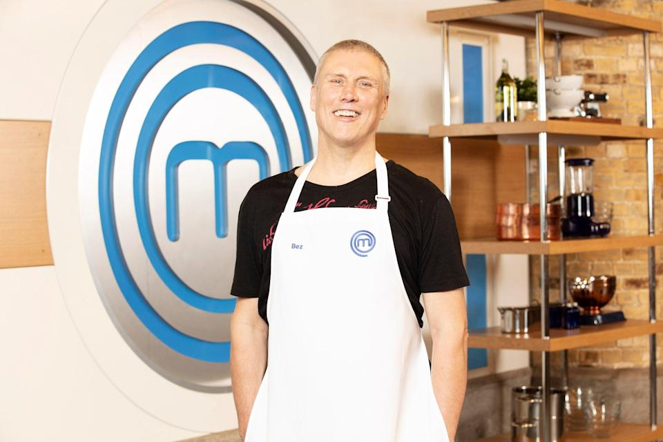 Happy Mondays star Bez will appear on this year's Celebrity MasterChefPA