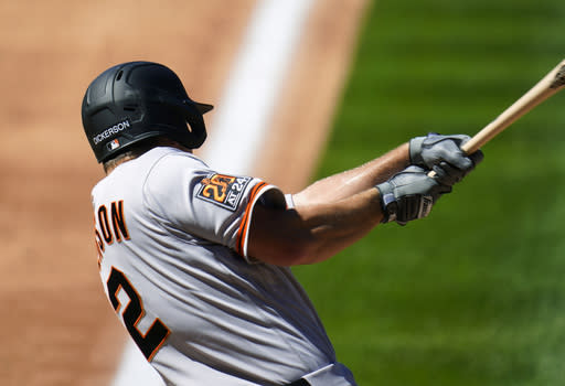 Giants OF Alex Dickerson cleared to play after positive test