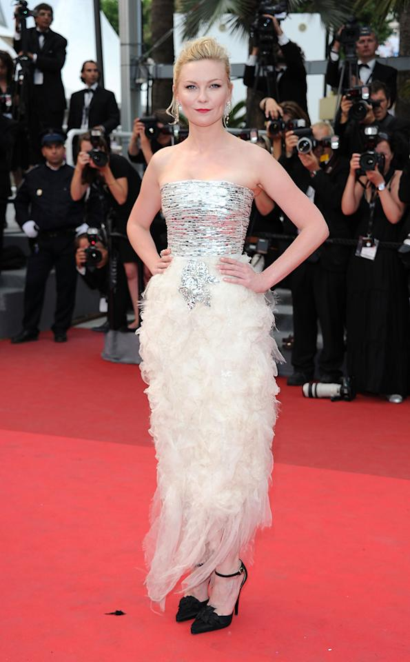 """<a href=""""http://movies.yahoo.com/movie/contributor/1800018860"""">Kirsten Dunst</a> attends the 64th Annual Cannes Film Festival premiere of """"Les Bien-Aimes"""" on May 22, 2011."""