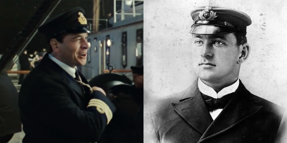 <p>Played by Mark Lindsay Chapman, Henry Wilde was the chief officer on the ship and served on several White Star ships before working his way up to his position on the <em>Titanic</em>. He died during the sinking. </p>