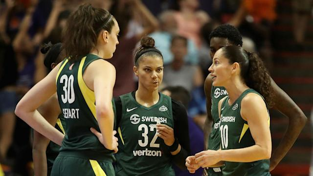 Injuries have already hit the reigning WNBA champions before the team's season opener Saturday against the Phoenix Mercury.