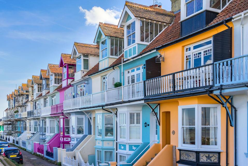 """<p>Looking for places to stay in Whitstable? Whether you're visiting from London or somewhere else, we've picked the best <a href=""""https://www.airbnb.co.uk/s/Whitstable--UK/homes"""" rel=""""nofollow noopener"""" target=""""_blank"""" data-ylk=""""slk:Airbnbs in Whitstable"""" class=""""link rapid-noclick-resp"""">Airbnbs in Whitstable</a> for anyone thinking of staying on for a night or two now that self-catering breaks are allowed in England (single households only).</p><p>The trendy seaside spot is as Insta-perfect as they get, with its colourful houses, incredible oysters and bright beach huts just waiting to be snapped. While it's a fine spot for a day out, real <a href=""""https://www.cosmopolitan.com/uk/entertainment/travel/g4958/best-beaches-in-uk/"""" rel=""""nofollow noopener"""" target=""""_blank"""" data-ylk=""""slk:beach"""" class=""""link rapid-noclick-resp"""">beach</a>-lovers will want to make the most of their time at the seaside by checking into a cosy <a href=""""https://www.cosmopolitan.com/uk/entertainment/travel/g27282282/girls-holiday-airbnb/"""" rel=""""nofollow noopener"""" target=""""_blank"""" data-ylk=""""slk:Airbnb"""" class=""""link rapid-noclick-resp"""">Airbnb</a> in Whitstable.</p><p>From Whitstable cottages to chic flats in the centre of town, you'll love our pick of the best Airbnbs in Whitstable from £60 per night. We've found holiday rentals for romantic breaks, glamorous houses to rent with your mates and great little boltholes in the centre of town for a family get-together.</p><p>So, dust off your weekend bag and check out these stylish <a href=""""https://www.cosmopolitan.com/uk/entertainment/travel/g30057269/hen-party-houses/"""" rel=""""nofollow noopener"""" target=""""_blank"""" data-ylk=""""slk:pads"""" class=""""link rapid-noclick-resp"""">pads</a> for a fun staycation in Kent's cool seaside town.</p>"""
