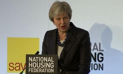 Theresa May calls for end to social housing 'stigma' as she pledges £2bn for new homes