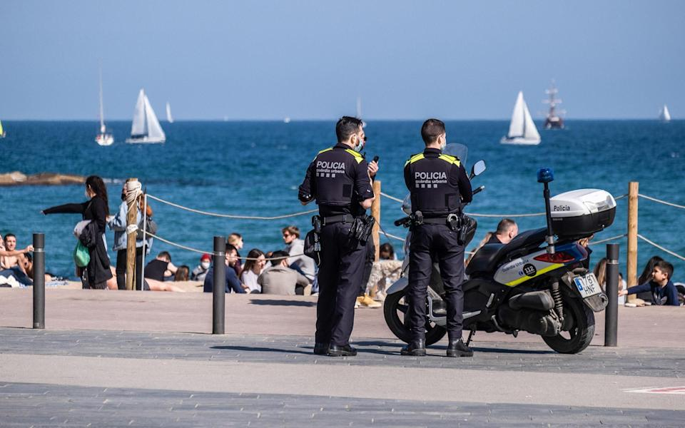 Barcelona's beaches may see few Britons this summer - Getty