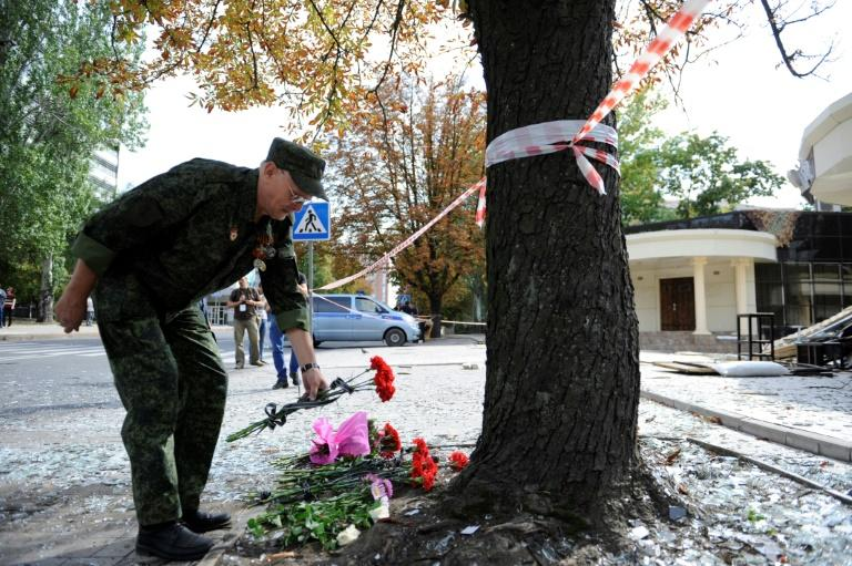 Ukrainian rebel separatist leader Alexander Zakharchenko was killed in a bombing at a Donetsk cafe, becoming the four-year conflict's most prominent victim from the Moscow-backed side