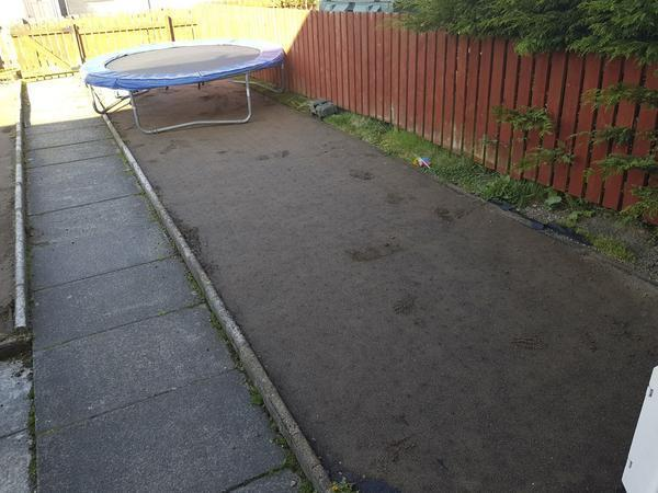 A kind-hearted gardner has offered to replace the astro turf