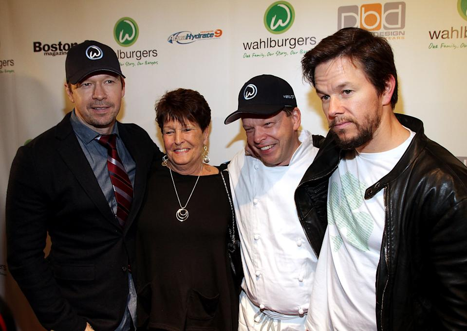 Mark And Donnie Wahlberg Mourn Mother Alma Who Has Died At Age 78