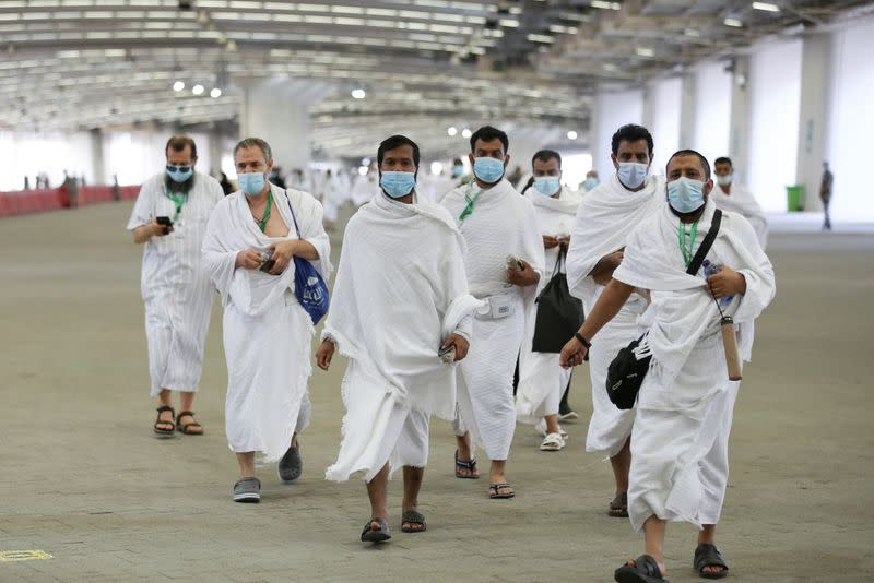 Annual Haj pilgrimage to the holy city of Mecca
